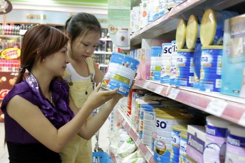 Kéo dài thời gian áp trần giá sữa đến hết 2016