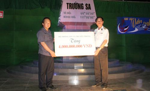 Bộ TT&TT, Trường Sa, Hải quân nhân dân Việt Nam