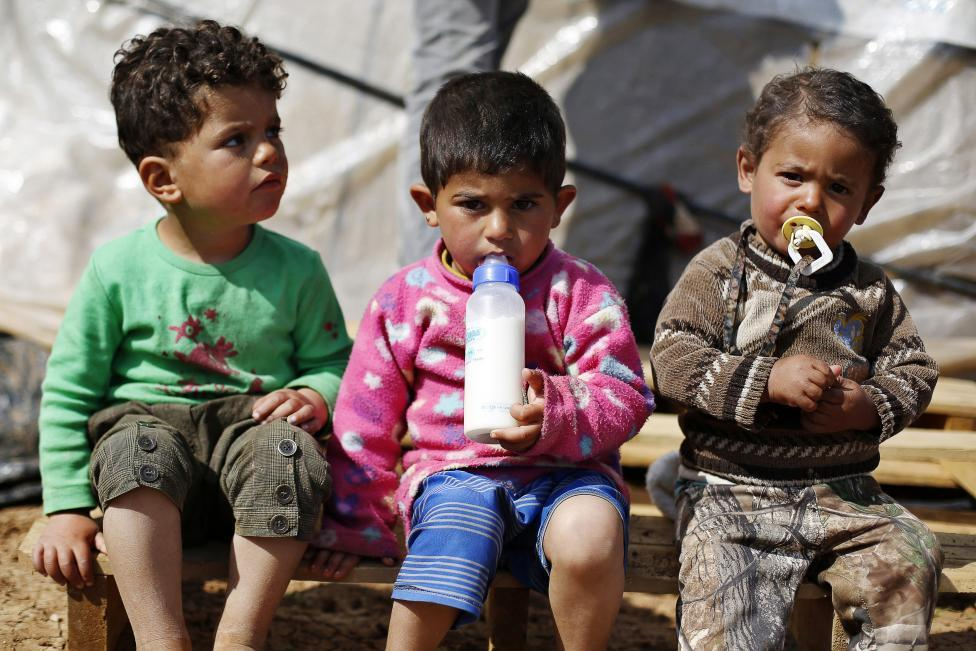 Ám ảnh gương mặt trẻ em trong chiến tranh tại Syria - 3