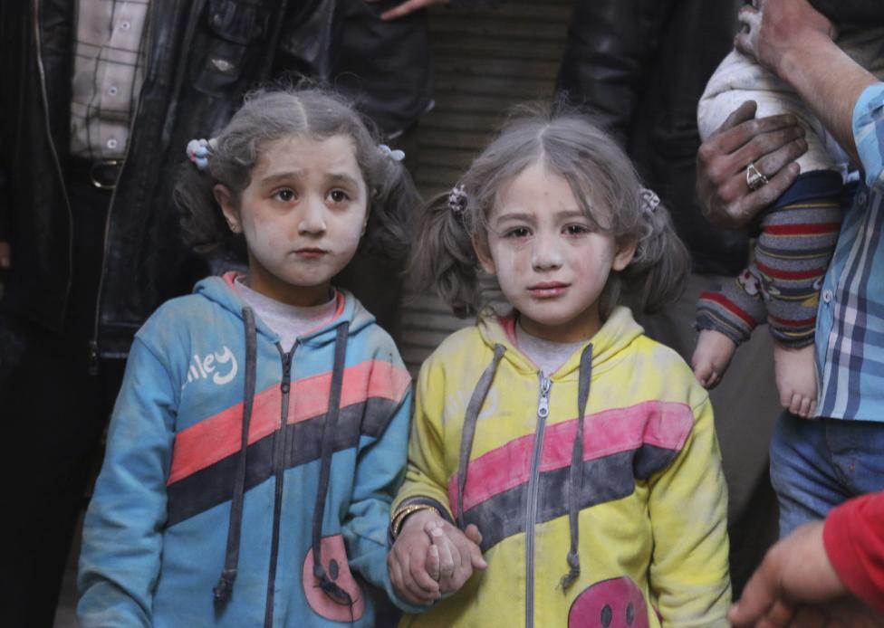 Ám ảnh gương mặt trẻ em trong chiến tranh tại Syria - 5