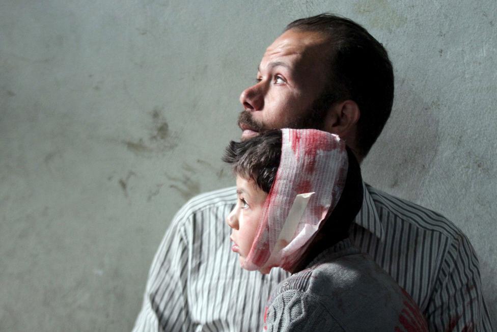 Ám ảnh gương mặt trẻ em trong chiến tranh tại Syria - 6