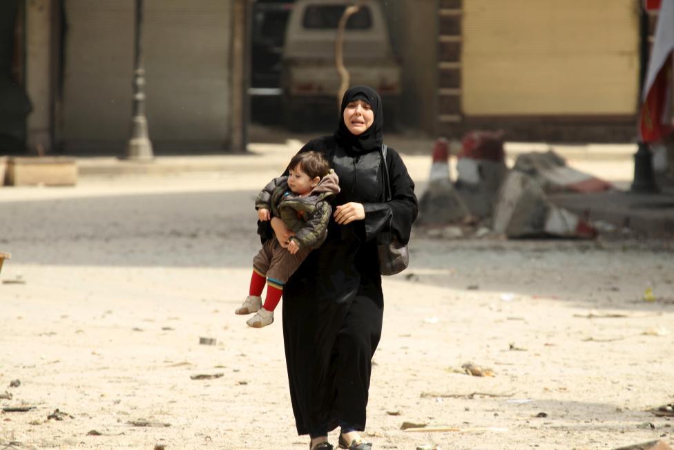 Ám ảnh gương mặt trẻ em trong chiến tranh tại Syria - 8