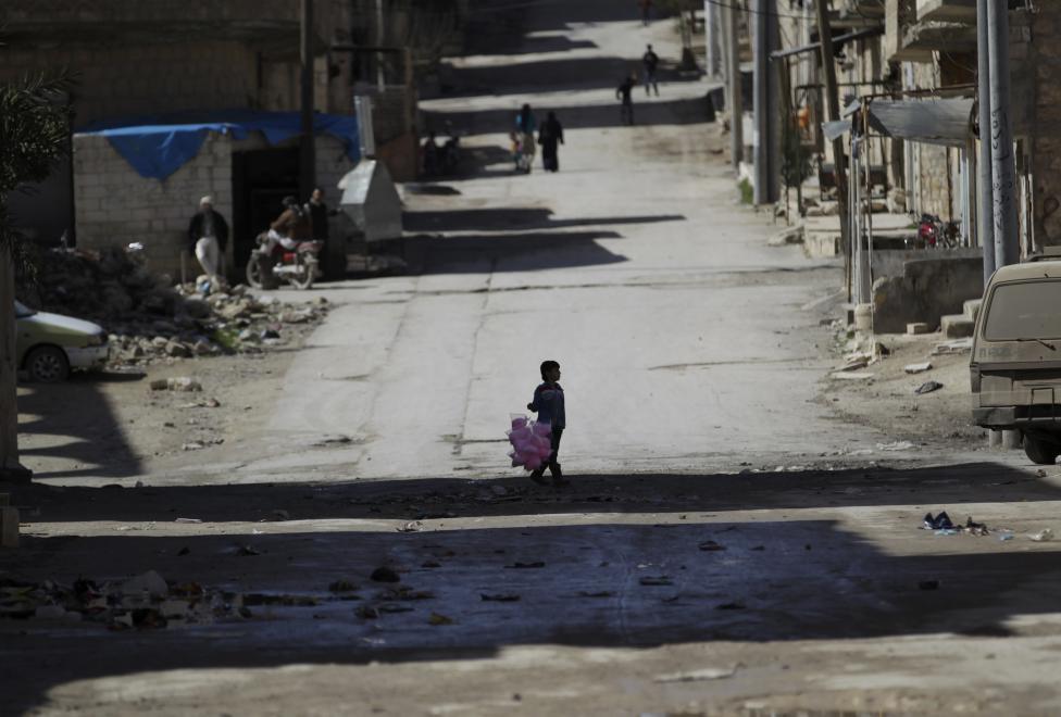 Ám ảnh gương mặt trẻ em trong chiến tranh tại Syria - 11