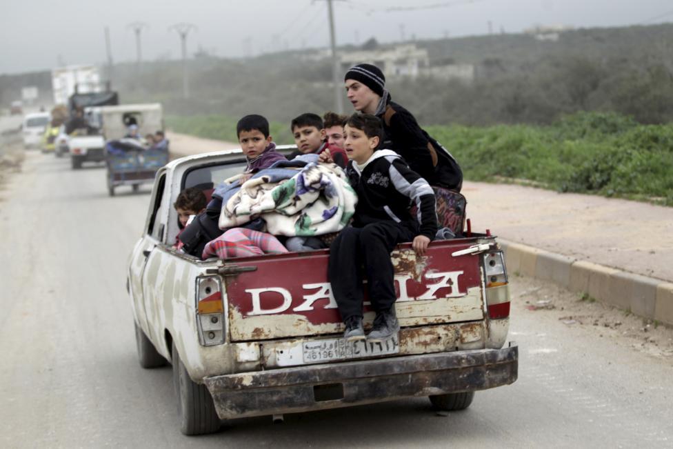 Ám ảnh gương mặt trẻ em trong chiến tranh tại Syria - 14