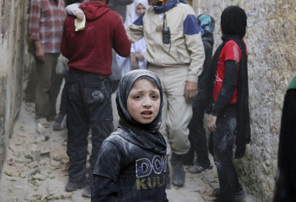 Ám ảnh gương mặt trẻ em trong chiến tranh tại Syria - 15