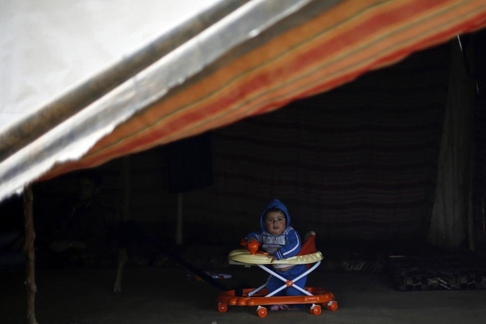 Ám ảnh gương mặt trẻ em trong chiến tranh tại Syria - 18