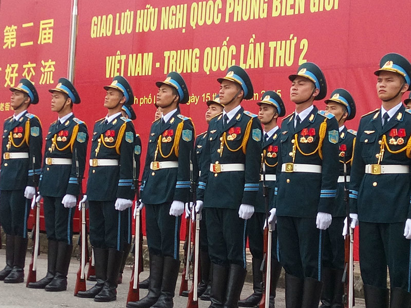 Việt-Trung tuần tra chung biên giới