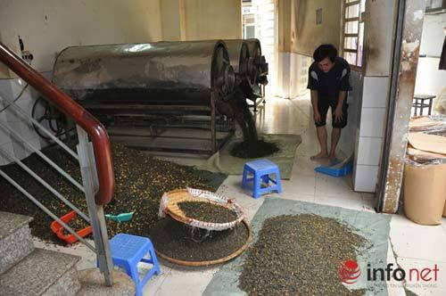 Kinh hoàng công nghệ sản xuất trà tẩm ướp hóa chất