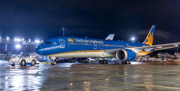 máy bay 787 - 8, hiện đại, Vietnam Airlines