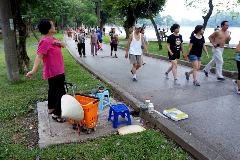 Run rẩy xét nghiệm máu rong ở Hà Nội