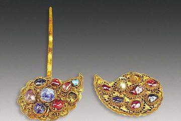 """Phát hiện mộ chứa đầy vàng của """"nữ siêu nhân"""" Trung Quốc"""