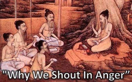 Tại sao người ta lại hét vào nhau lúc tức giận? - 1