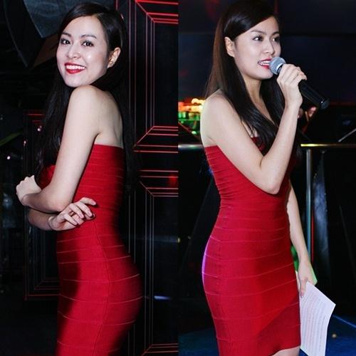 Hoàng Thùy Linh sexy bản năng