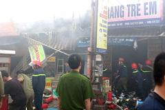 Tìm thấy thi thể trong đám cháy chợ Phùng Khoang