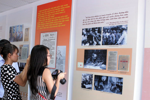 """Triển lãm """"Nguyễn Ái Quốc - Hồ Chí Minh với báo chí cách mạng Việt Nam"""""""