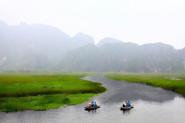 Đầm Vân Long - điểm tham quan tuyệt đẹp gần Hà Nội