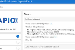 VN đoạt  3 Huy chương Vàng Olympic Tin học châu Á