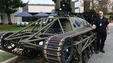 Hé lộ mẫu xe tăng không người lái lợi hại của Mỹ