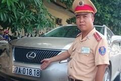 Hà Nội: Bắt xe Lexus biển giả của nhà báo rởm