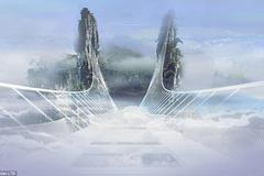 Cận cảnh cây cầu bằng kính cao nhất thế giới