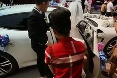 Clip đám cưới siêu sang với đoàn rước dâu toàn siêu xe ở Hà Tĩnh