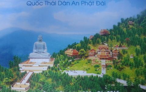 Quốc thái dân an Phật đài, Tây Thiên, tượng 500 tỉ