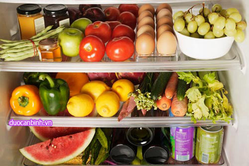 Cách bảo quản thực phẩm trong tủ lạnh