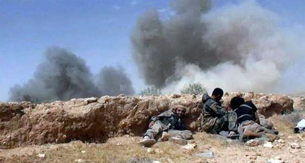 IS, cửa khẩu, Iraq, Syria