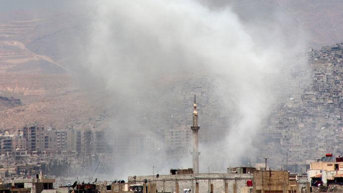 Sứ quán Nga ở Syria bị nã pháo lần thứ 2 trong tuần