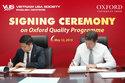 VUS tiếp tục là đối tác duy nhất của NXB Oxford tại Châu Á