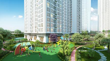 Tòa Park 5 - Vinhomes Times City chính thức mở bán