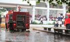 Cháy trường cấp 2, hàng trăm học sinh hoảng sợ bỏ chạy