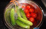 Khử độc rau quả, thực phẩm: cách nào hiệu quả?