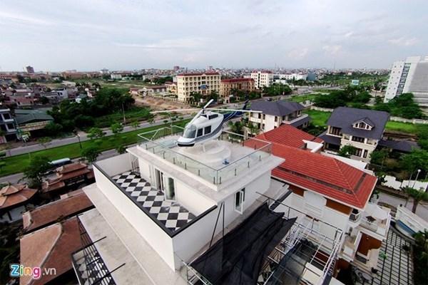 Độ giàu có của đại gia 'trực thăng' đậu nóc nhà ở Hải Dương
