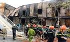 Cháy lớn thiêu rụi hàng chục phòng trọ ở Sài Gòn
