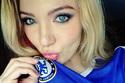 Điểm mặt những fan nữ xinh đẹp của tân vương Chelsea