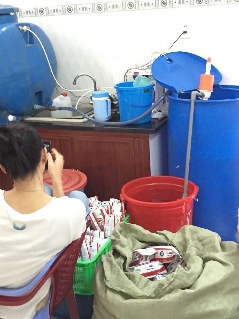 Công ty Twin Lotus sản xuất khăn ướt giả, mất vệ sinh, Cong ty Twin Lotus san xuat khan uot gia, mat ve sinh