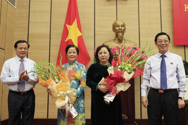 HĐND, Ngô Thị Doãn Thanh, Nguyễn Thị Bích Ngọc
