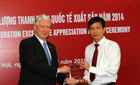 Agribank nhận giải Chất lượng Thanh toán xuất sắc