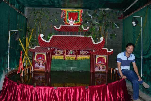 Phan Thanh Liêm, múa rối mini, Xã Đàn