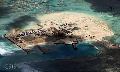 Biển Đông, Quan hệ Trung - Mỹ, Đảo nhân tạo, bá quyền, Hoàng Sa, Trường Sa