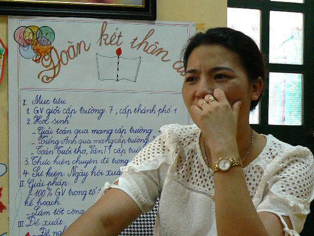 Cô hiệu trưởng 'thất bại' trước học sinh lớp 3