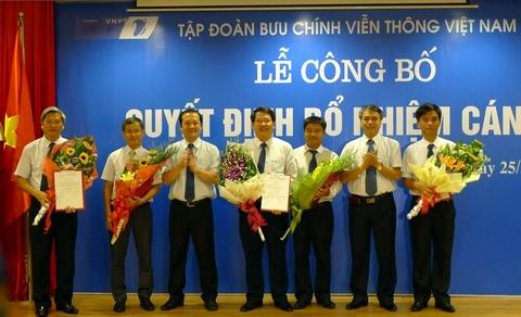 VNPT công bố dàn lãnh đạo của 3 Tổng công ty mới