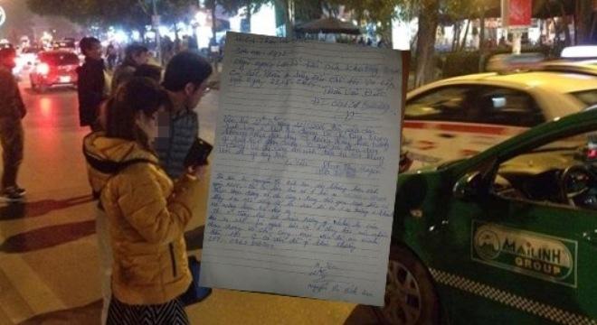 """Hà Nội: Tài xế taxi có hành động """"lạ"""", nữ hành khách sợ hãi"""