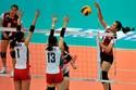 Bóng chuyền nữ Việt Nam dừng bước ở tứ kết giải châu Á