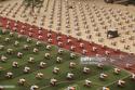 Hàng nghìn sinh viên đội nắng làm bài thi