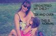 Tranh cãi về bà mẹ cho con gái 6 tuổi bú mẹ