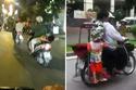 """Những kiểu đèo con """"tự sát"""" của cha mẹ Việt"""