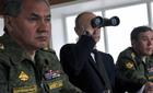 Hình ảnh Nga - NATO tập trận kình địch nhau