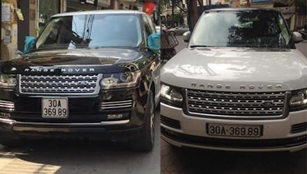Hà Nội: Hai xe tiền tỷ Range Rover có biển số giống nhau